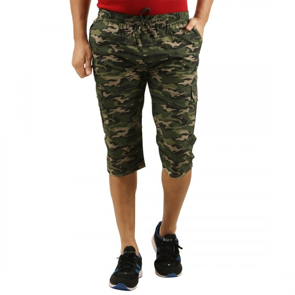 Men's Camo Threefourth