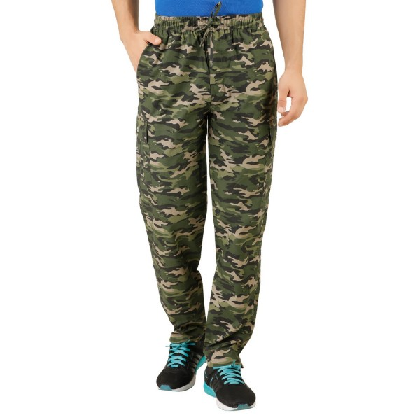Men's Camo Cotton Track Pant
