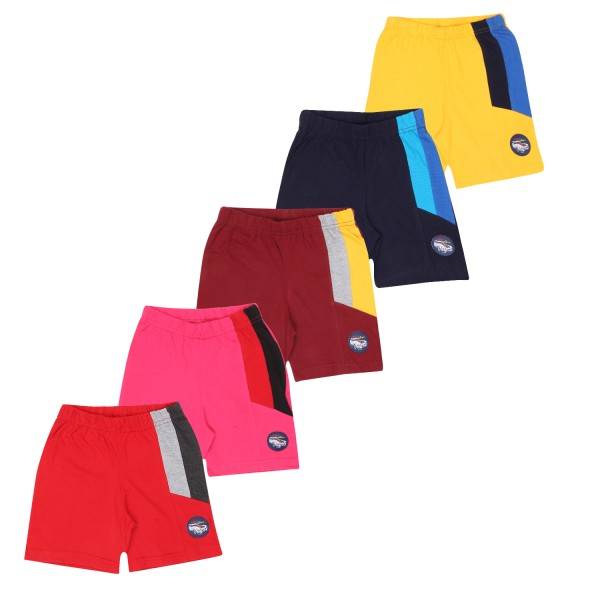 Kids Hosiery Shorts - Pack of 5