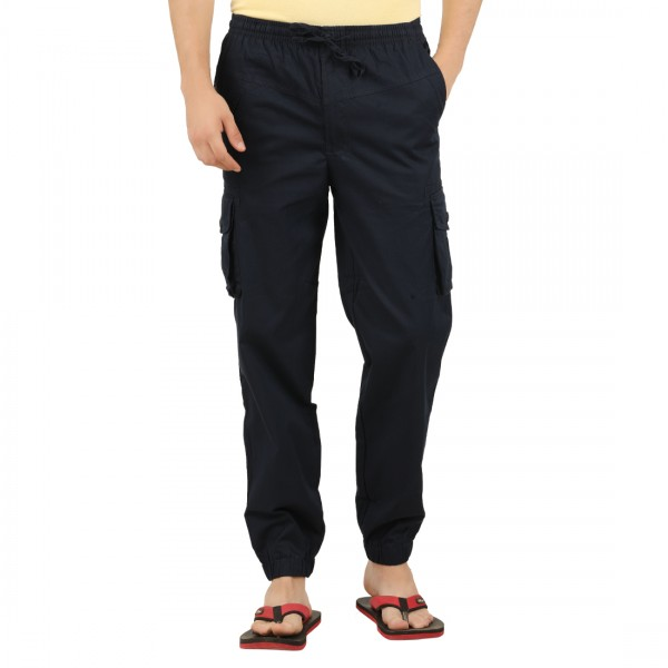 Men's Solid Colour Cotton Trackpant