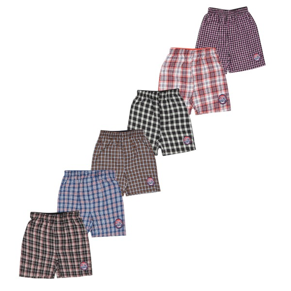 Kids Shorts - Pack of 6